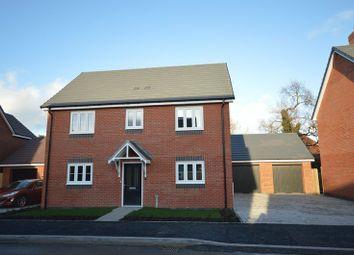 Thumbnail 4 bed detached house for sale in Shawbury, Nr Shrewsbury, Shropshire.