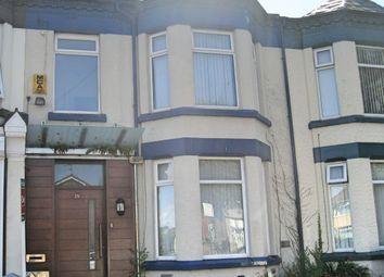 Thumbnail 3 bed terraced house for sale in Woodchurch Lane, Birkenhead
