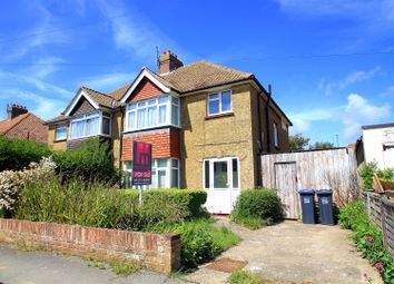 Thumbnail 3 bed semi-detached house for sale in The Crescent, Southwick, Brighton