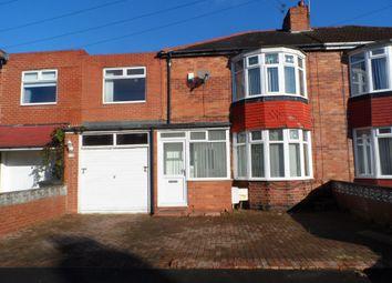 Thumbnail 4 bedroom terraced house for sale in Calderdale Avenue, Walker, Newcastle Upon Tyne
