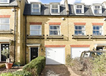 Thumbnail 3 bed town house for sale in Layton Place, Kew, Richmond