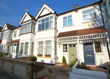 Thumbnail 4 bed terraced house for sale in Leyborne Avenue, London