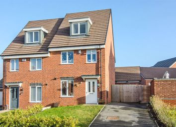 Thumbnail 3 bed semi-detached house for sale in Ruston Road, Burntwood