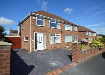 Thumbnail 3 bed semi-detached house for sale in Teehey Close, Bebington, Wirral