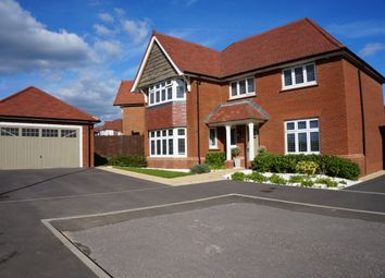 Thumbnail 4 bed detached house for sale in Onyx Close, Swindon