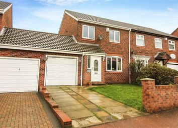 Thumbnail 3 bed semi-detached house for sale in Wesley Way, Throckley, Tyne And Wear