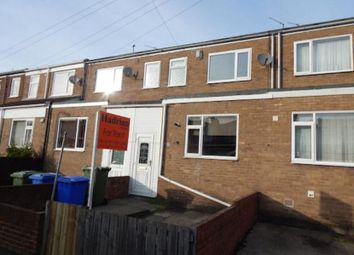 Thumbnail 3 bed terraced house to rent in Ridley Street, Cramlington