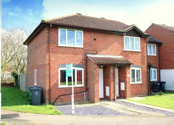 Thumbnail 2 bed end terrace house for sale in Balmoral Way, Eynesbury, St. Neots