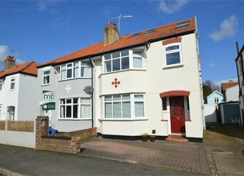 Thumbnail 4 bed semi-detached house for sale in Lovelace Gardens, Hersham, Walton-On-Thames
