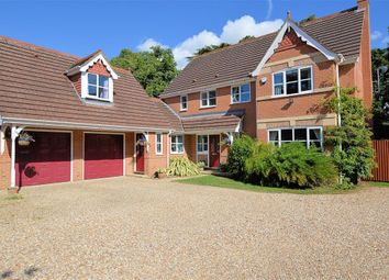 Thumbnail 5 bed detached house for sale in Badgers Glade, Burghfield Common, Reading