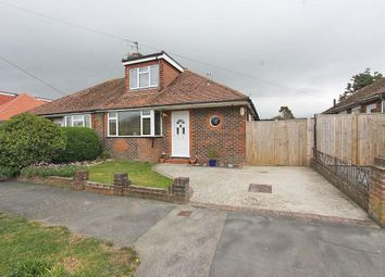 Thumbnail 3 bed semi-detached bungalow for sale in Chyngton Gardens, Seaford, East Sussex