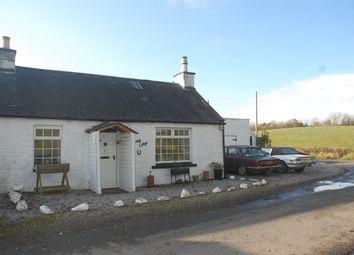 Thumbnail 2 bed cottage for sale in Smiddy Cottage, 1 West Logan, Castle Douglas