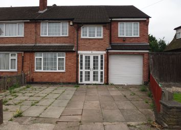 Thumbnail 5 bed semi-detached house for sale in Kilworth Drive, Off Evington Drive, Leicester