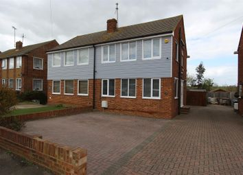 Thumbnail 3 bed semi-detached house for sale in Scrapsgate Road, Minster On Sea, Sheerness