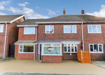 Thumbnail 4 bedroom semi-detached house for sale in Walton Drive, Choppington