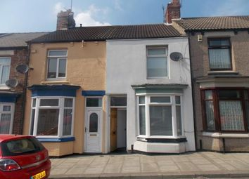Thumbnail 2 bed terraced house for sale in Benedict Street, Middlesbrough