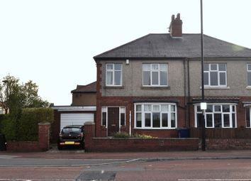 Thumbnail 3 bedroom semi-detached house for sale in Newton Road, High Heaton, Newcastle Upon Tyne