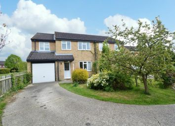 Thumbnail 4 bed semi-detached house for sale in Mars Close, Wokingham