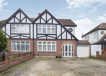 Thumbnail 4 bed semi-detached house for sale in Oaks Avenue, Worcester Park