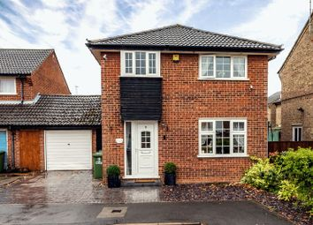 Thumbnail 4 bed detached house for sale in Stanegate, Sawtry, Huntingdon, Cambridgeshire.