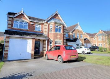 Thumbnail 4 bed detached house for sale in Pippin Court, Scunthorpe