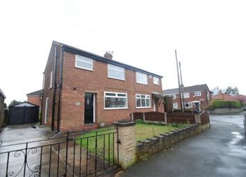 Thumbnail 3 bed semi-detached house for sale in Ruskin Avenue, Denton, Manchester