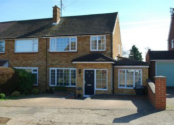 Thumbnail 3 bed semi-detached house for sale in Poplar Close, Hitchin, Hertfordshire