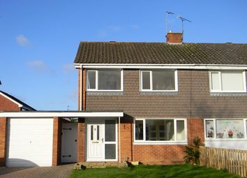 Thumbnail 3 bed semi-detached house to rent in 11 Five Ashes Road, Westminster Park, Chester