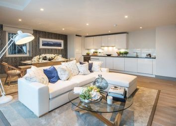 Thumbnail 2 bedroom flat for sale in Ivory House West, Plantation Wharf, Battersea, London