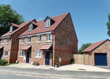 Thumbnail 3 bed semi-detached house for sale in Overton Close, Eccleshall, Staffordshire