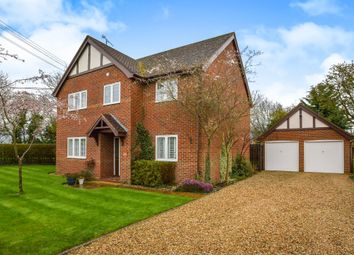 Thumbnail 4 bed detached house for sale in Brittens Lane, Salford, Milton Keynes