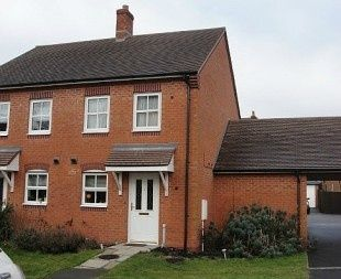 Thumbnail 2 bed semi-detached house to rent in Orchid Close, Desborough, Kettering