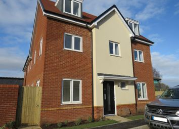 Thumbnail 4 bed end terrace house for sale in The Coach Road, Beggarwood, Basingstoke