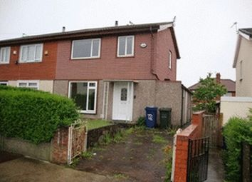 Thumbnail 3 bedroom semi-detached house for sale in Hesleyside Drive, Newcastle Upon Tyne