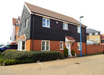 Thumbnail 4 bed link-detached house for sale in Bluewater Quay, Wixams, Bedford, Bedfordshire