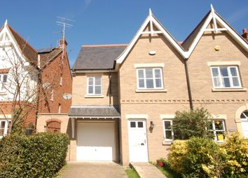 Thumbnail 4 bedroom town house to rent in Mariners Way, Cambridge