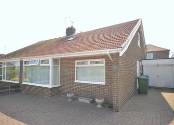 Thumbnail 3 bed semi-detached bungalow for sale in Derwent Road, Seaton Sluice, Whitley Bay