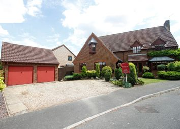 Thumbnail 5 bedroom detached house for sale in Whattoff Way, Baston, Peterborough