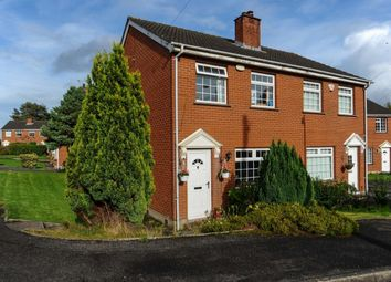 Thumbnail 3 bed semi-detached house for sale in Beaufort Park, Belfast