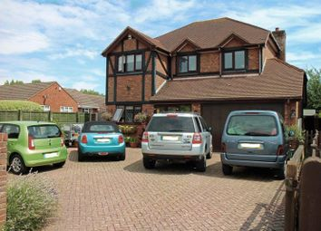 Thumbnail 4 bed detached house for sale in Crofton Lane, Hill Head, Fareham
