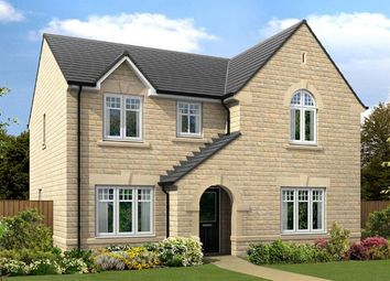"Thumbnail 4 bed detached house for sale in ""The Salcombe V0"" at Burn Road, Huddersfield"