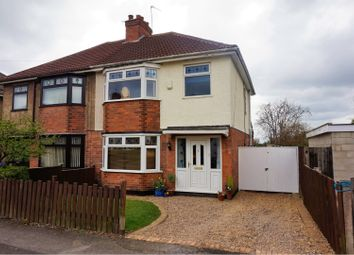 Thumbnail 3 bedroom semi-detached house for sale in Masefield Avenue, Derby