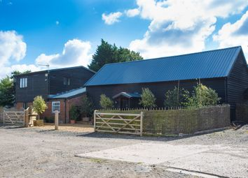 Thumbnail 3 bed barn conversion for sale in Debenham Road, Stonham Aspal, Stowmarket