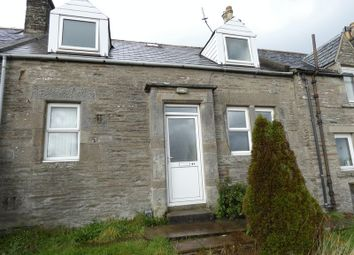 Thumbnail 1 bed terraced house for sale in Rose Street, Thurso