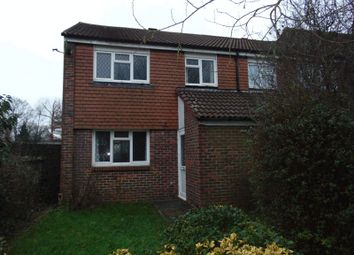 Thumbnail 3 bed terraced house to rent in Berrymeade Walk, Ifield, Crawley
