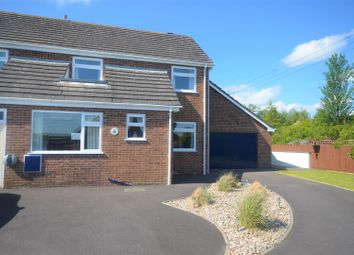 Thumbnail 3 bed semi-detached house for sale in Balmoor Close, Mere, Warminster