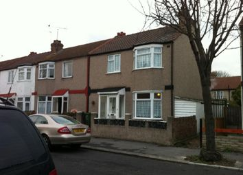 Thumbnail 3 bed end terrace house to rent in Heath Road, Chadwell Heath