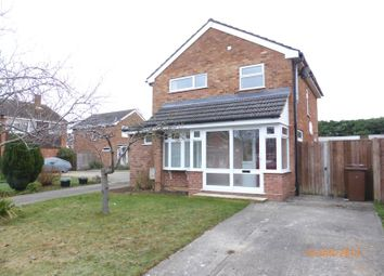 Thumbnail 3 bed detached house to rent in Read Way, Bishops Cleeve, Cheltenham