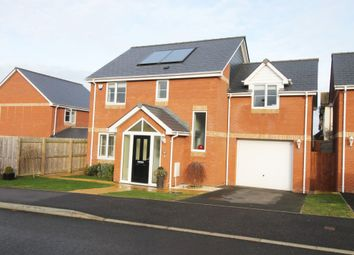 Thumbnail 4 bed detached house for sale in Sages Lea, Woodbury Salterton, Exeter