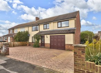 Thumbnail 4 bed semi-detached house for sale in The Close, Godmanchester, Huntingdon, Cambridgeshire
